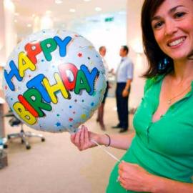 "Heliumballon ""Alles Gute zum Geburtstag"""