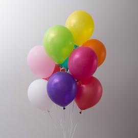 """Eine Wolke von Luftballons """"Gute Laune"""""""