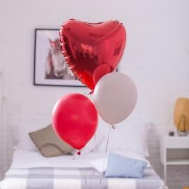 """Eine Wolke von Luftballons """"Für dich"""""""